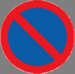 No parking from this sign to the next intersection, or to the next  sign of this kind with the inscription ʺEndʺ