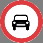 Closed to motor vehicles on more than tow wheels