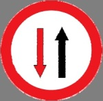 Cede Priority to oncoming vehicle